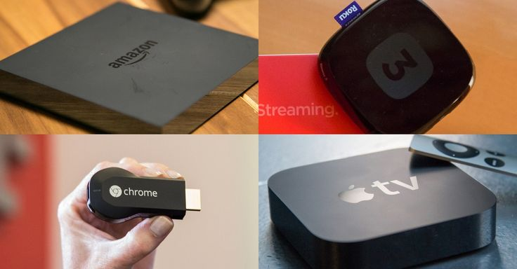 Amazon Fire TV vs. Apple TV vs. Roku 3 vs. Chromecast