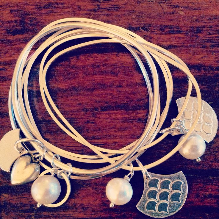 Jali stacking bracelets