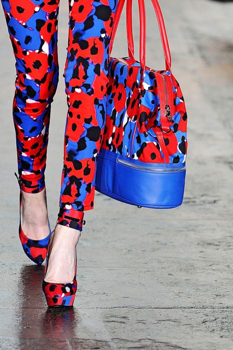 DKNY Spring 2012 Details  Wow!!! Shoes & bag
