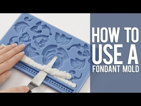 How to Use a Fondant Mold - YouTube