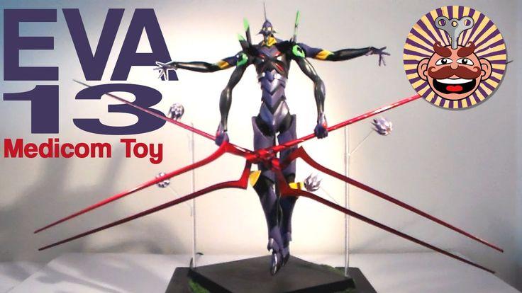 Medicom Toy RAH Evangelion EVA 13 Figure REVIEW - Monsieur Toys