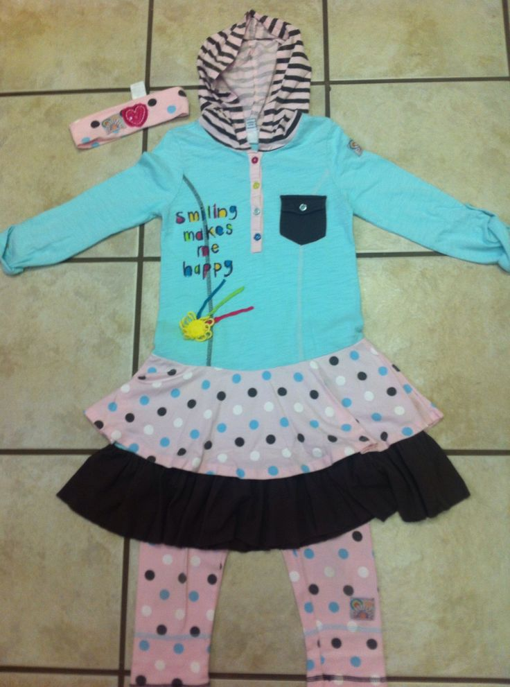 Naartjie Kids Clothing Group 3 Piece Set All Size 7 Vguc Minimal Fading On The Legging Dots Only Sb 15 Shipping Usa No International