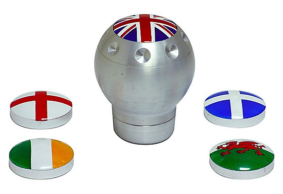 For those that love to personalise everything the type S 'Flag' Gear Knob is the perfect gift.