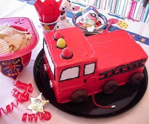 Fireman Party Supplies, Firefighter Party Favors