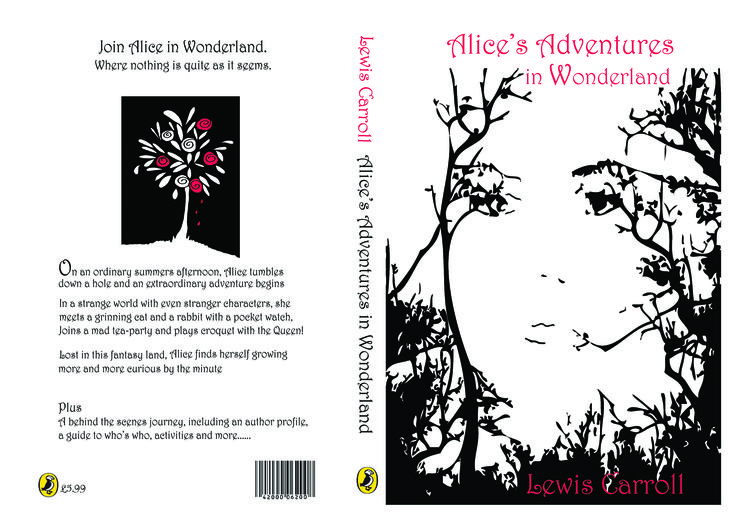 White color is the base color for the background of front and back side of the cover page. The other color that the designer applied was black. The black color has been used to form the image at the front side and also the write the detail of the book at the back side. The image shown on the front cover is the face of a human being, however, the deaigner has used the technique of the combination of trees to form the entire face include eyes, nose and mounth.