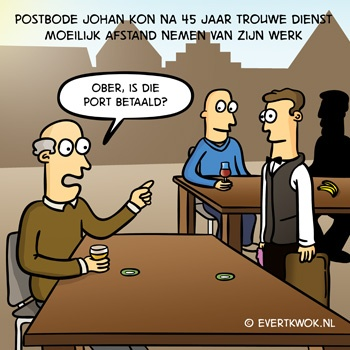 Evert Kwok - Postbode