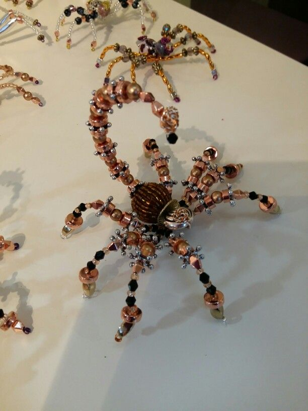 Part of a new spider collection, all steampunk inspired.