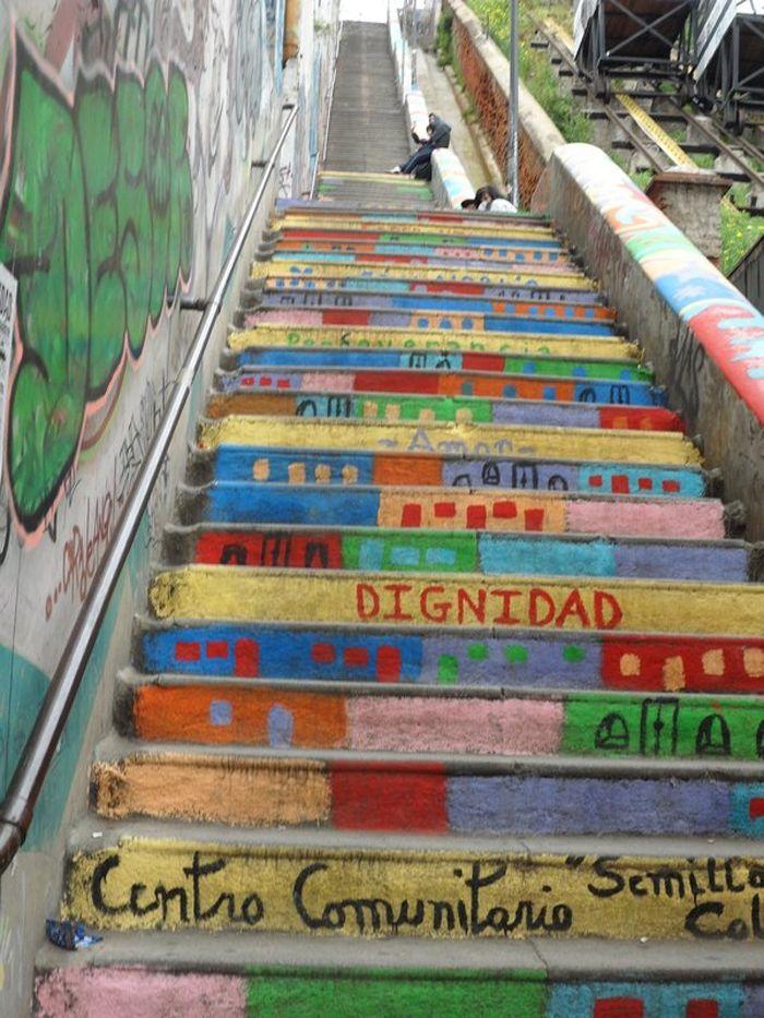 Stair Street Art | Street Art | Pinterest | Street Art, Street And Street  Artists