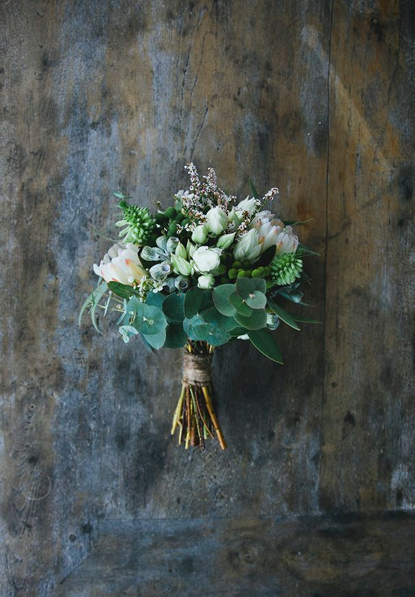 MARNI + THOMAS // #flowers #natural #nude #white #green #weddingbouquet