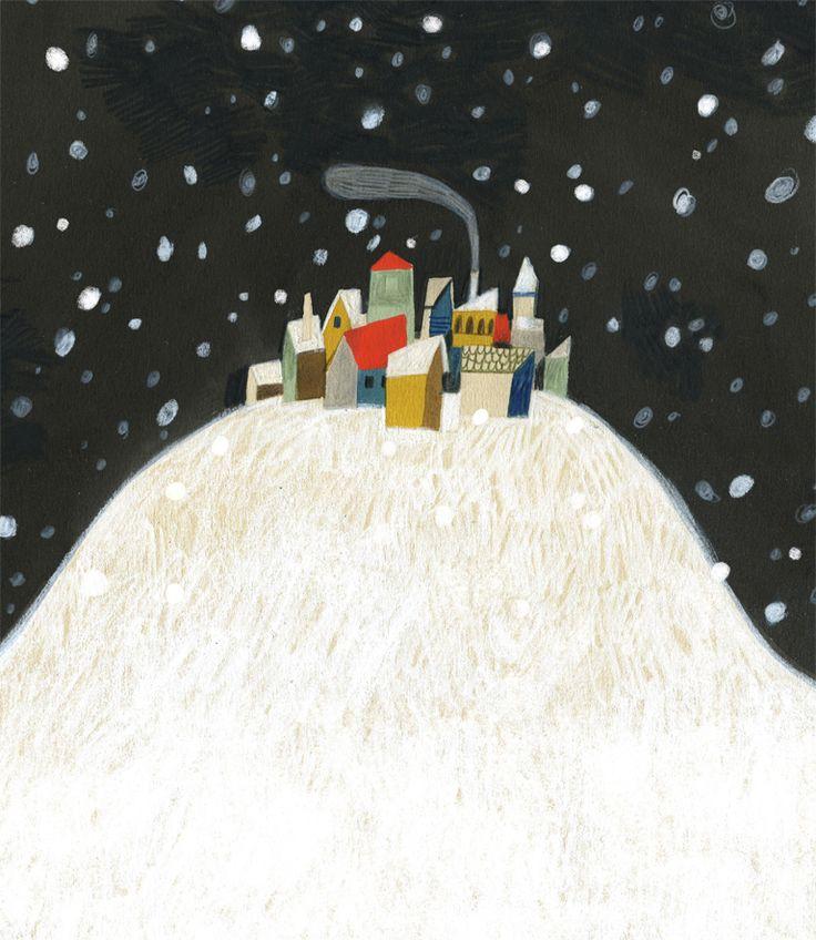 felicita sala illustration: a book, a book fair.