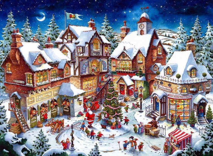 escenarios de navidad