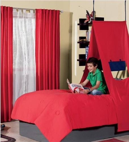 19 best bed tents for boys images on pinterest 3 4 beds Short canopy bed