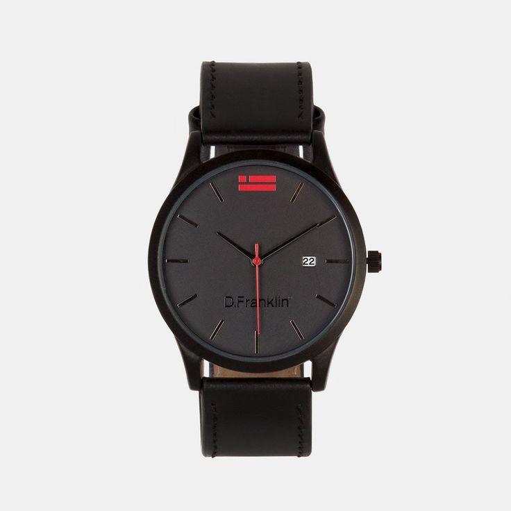 Irvine Leather Black / Black                       3368