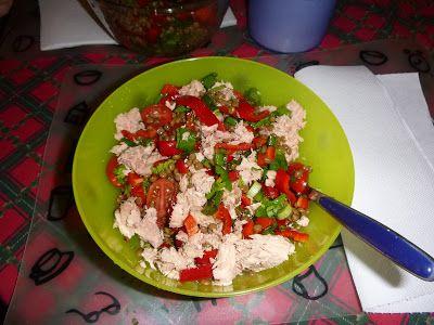 G & M - Χρώμα... Ελληνικό! :    Φακές σαλάτα με τόνο