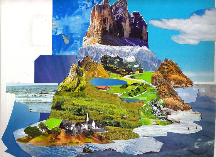 18X25cm #paper #collage #cotroneorudi  #art