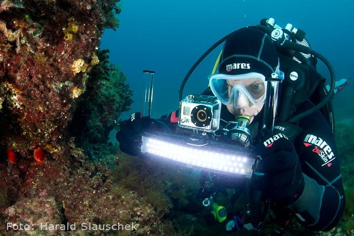 GoPro Kameras und das sub zero Unterwasser System für GoPro HD Kameras von Stefan Wiessmeyer