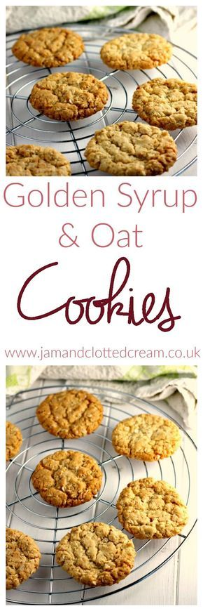 Golden Syrup and Oat Cookies, maybe add Raisins/ginger