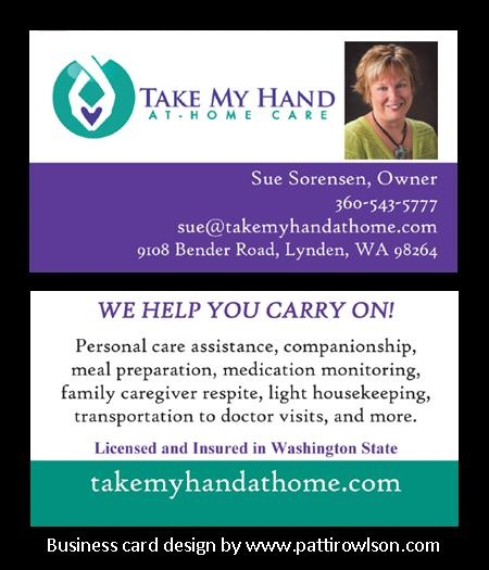 Business Cards For Home Care Service Company Pattirowlson Com Doctor Business Cards Home Doctor Business Card Design
