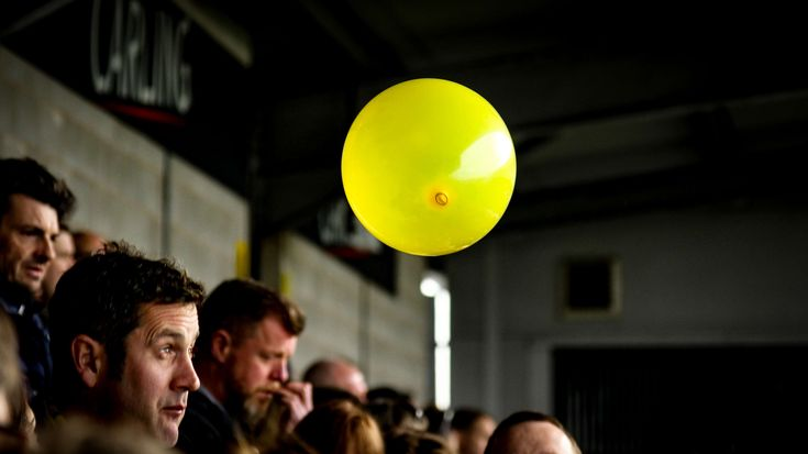 #balloon #burton albion #football #yellow