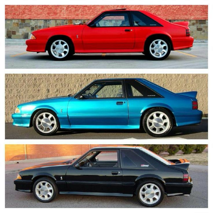 1993 Ford Mustang Cobra!!!!!! Made in only three colors(Seen Above)