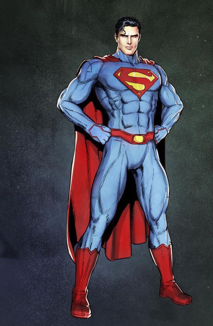 """New 52"" Superman - Mikel Janín"
