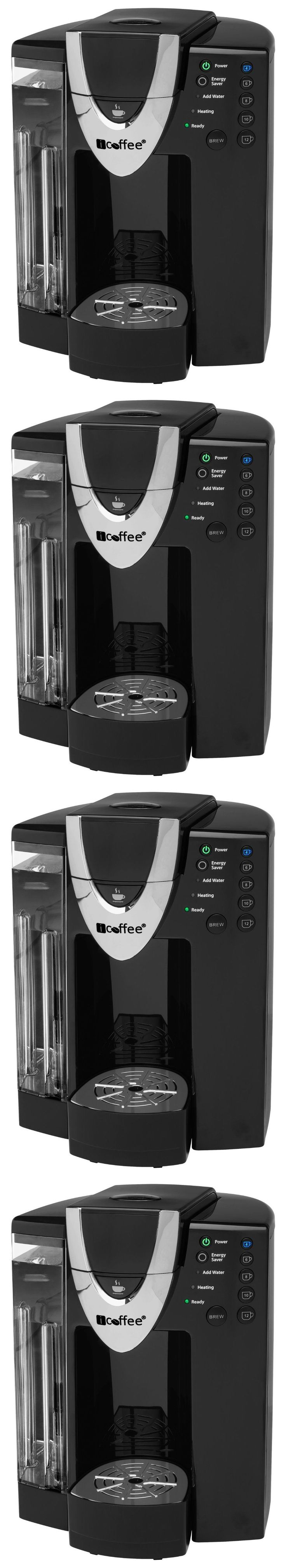 Single Serve Brewers 156775: Icoffee Rss300-Dav Single Serve Coffee Brewer W Spin Brew Technology Black New -> BUY IT NOW ONLY: $81.79 on eBay!