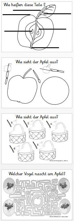 Kruschkiste: Kleines Apfelbuch