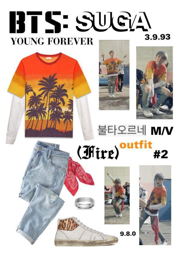 BTS SUGA U0026quot;Fireu0026quot; M/V Outfit #2 | Polyvore | Pinterest | Bts Suga Blue Nile And BTS