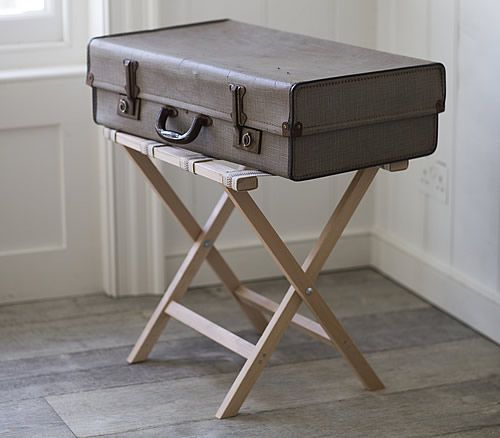 Suitcase / Luggage Rack   Wooden