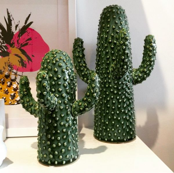 How awesome are these ceramic cactuses?! These make a great addition to any home. Made from ceramic. Small - 20cm H x 14cm WLarge - 30cm H x 16cm W