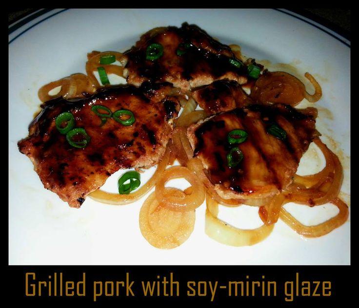 Grilled pork chops (Korean)