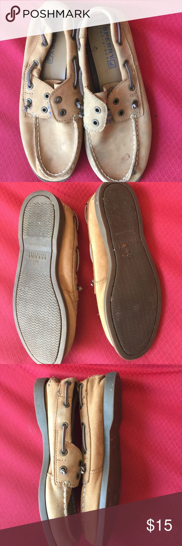Boys Sperry loafer Size 3.5 needs a little tender living care but other wise great shape! Sperry Shoes