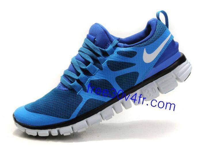 Cheap Nike Free Men s Running Shoe Royal/White