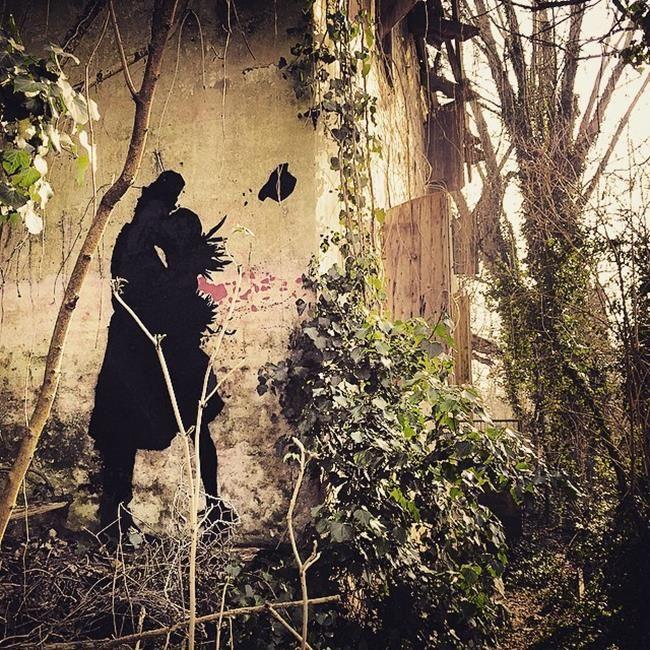 Sokakların Yeni Banksy'si Kenny Random'dan Etkileyici Sokak Sanatı Eserleri Sanatlı Bi Blog 2