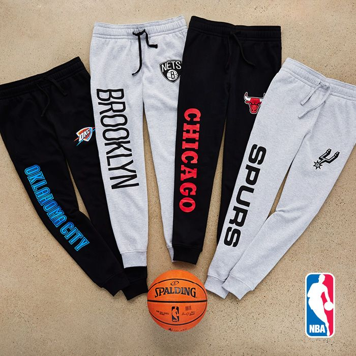 Be the MVP in team joggers. I want the Chicago bulls and San Antonio spurs. #basketball #ballislife