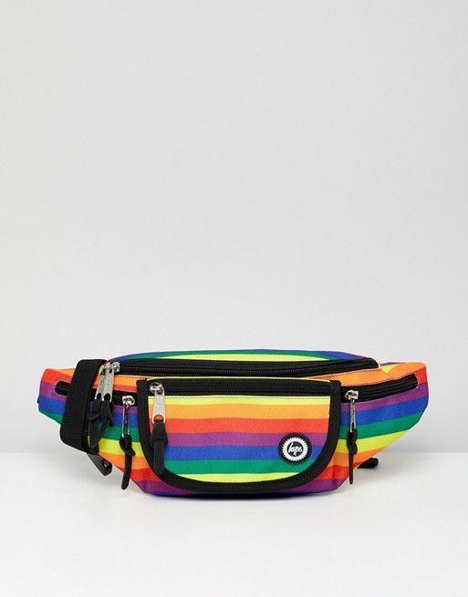dbd14e7c8c4608 Hype rainbow bum bag | ASOS in 2019 | Bum bag, Bags, Fashion