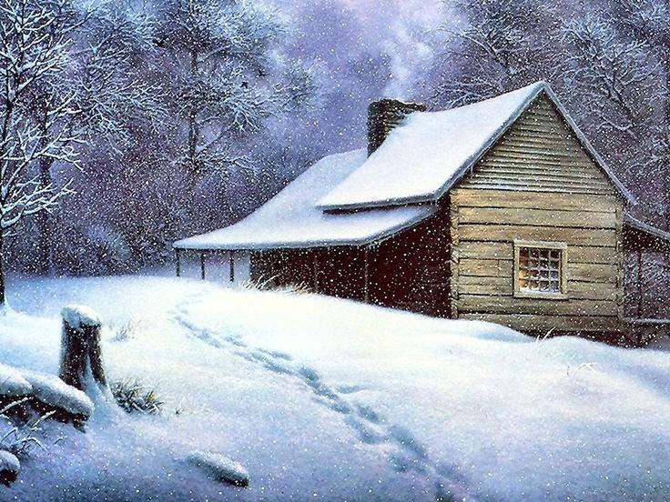A Cozy Mountain Retreat by Dalhart Windberg