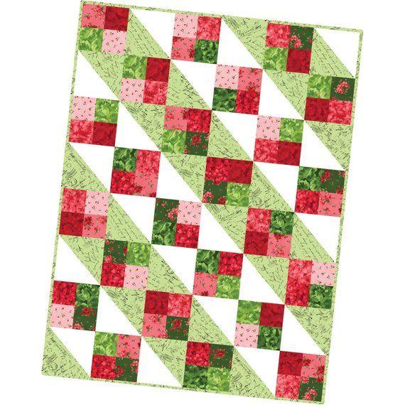 Chloe Four Square Precut Quilt Pod Kit Pod By Maywood Studio Mas07 Chl Precut Quilts Quilts Christmas Quilt Blocks