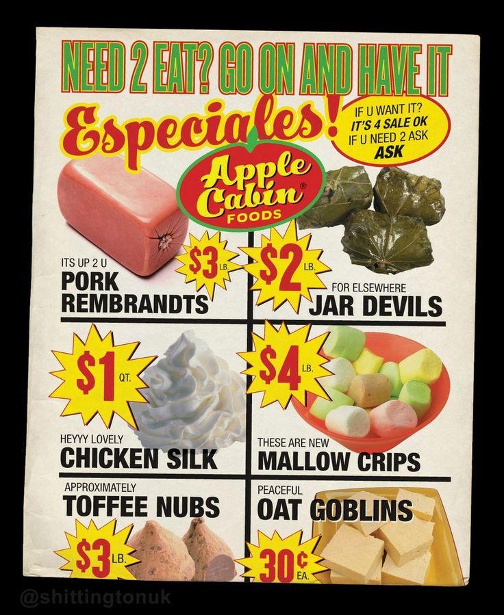 Apple Cabin Foods is having a sale!