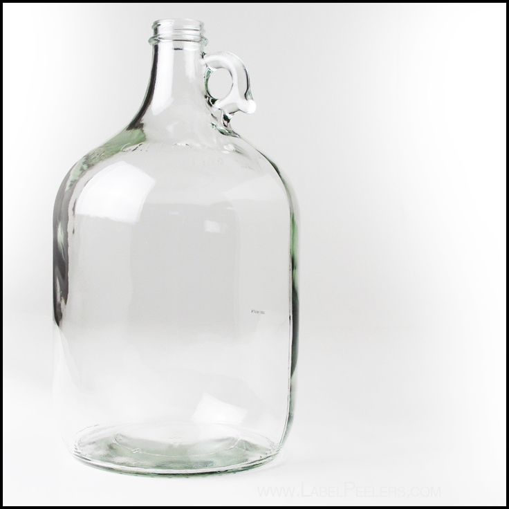Label Peelers - Clear Glass Jug 1 Gallon, $4.35 (http://labelpeelers.com/equipment/bottles/wine-bottles/clear-glass-jug-1-gallon/)