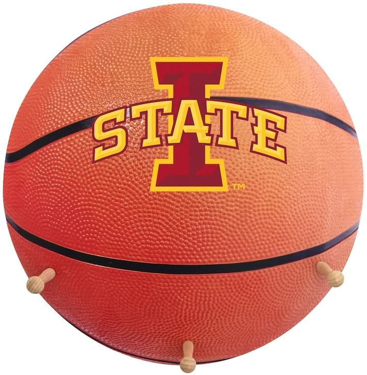 NCAA Iowa State Cyclones Basketball Coat Hanger