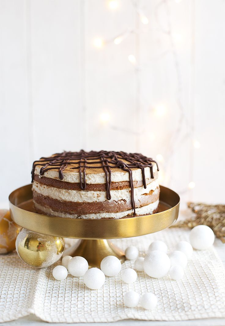 Coffee-cinnamon xmas cake