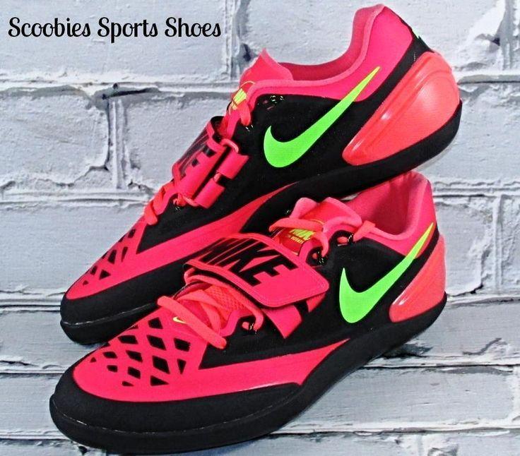 Nike ZM Rotational Throw Discus/Shotput Shoes Size 10 Hyper Punch/Green #Nike