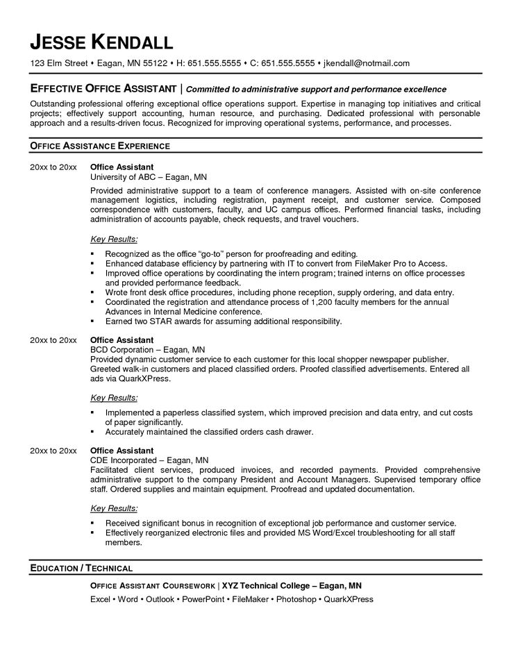 Best 25+ Medical assistant cover letter ideas on Pinterest - cover letter for office assistant