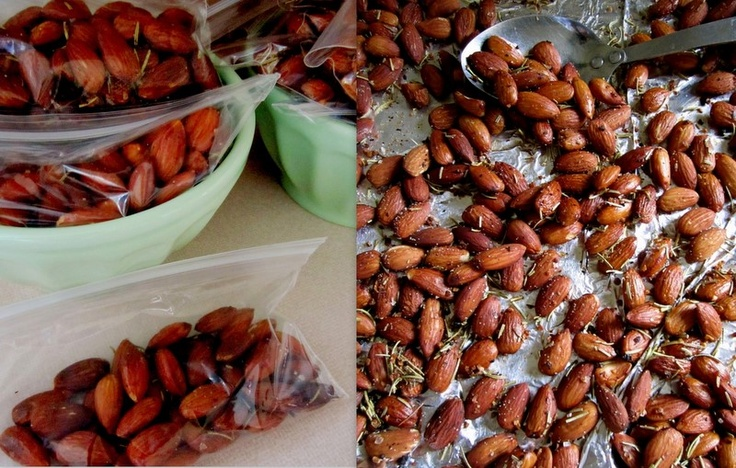 chipotle rosemary almonds -sounds yummy!January 2012, Rosemary Almond, Olive Oil, Brown Sugar, Healthy Snacks, Chipotle Rosemary, No Sugar, Urban Nester, Oatmeal Cups