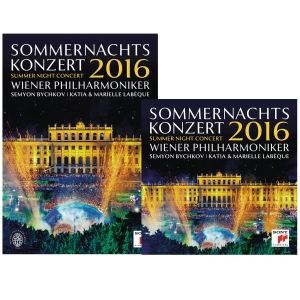 The Summer Night Concert 2016 with the Vienna Philharmonic Orchestra is annual open-air event held in Vienna, Austria. Recorded live on May 26, 2016, the program focuses entirely on French composers covering the period between Romanticism and Neoclassicism. This year's Summer Night Concert was conducted by Russian maestro Seymon Bychkov. Save when you buy the DVD and CD together!