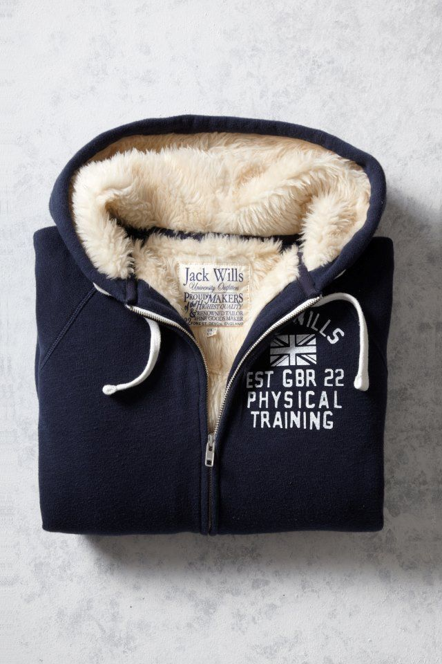 The Conniston Sherpa Hoodie | Jack Wills size 10