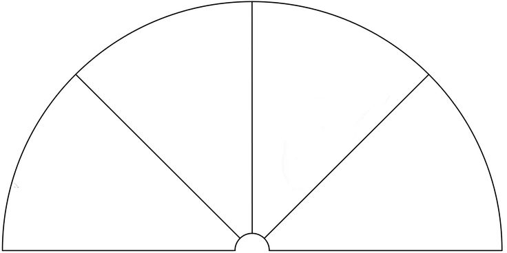 Dowsing Chart, 4 Pieces. You can use this picture to make your own Dowsing Chart, by adding any text or symbols you want.