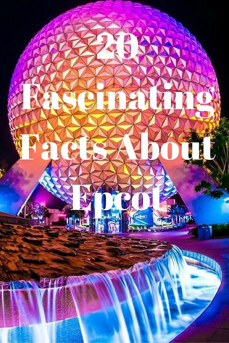 20 Fascinating Facts About Epcot