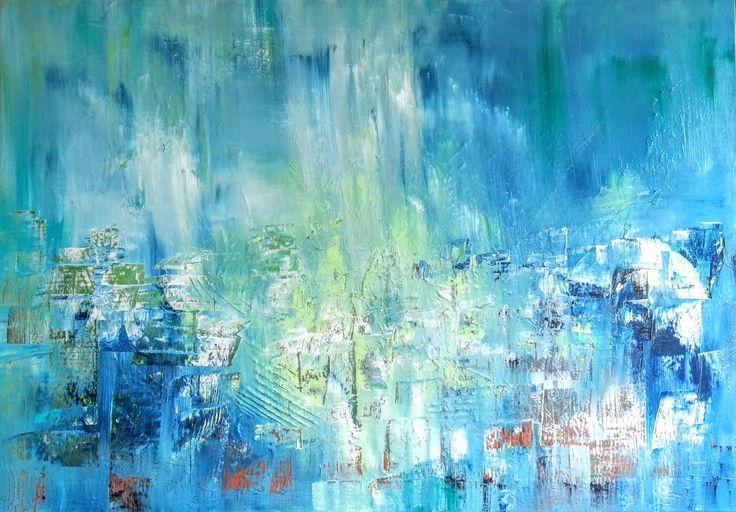 Eléments ciel terre eau : Peintures par gauchepatte